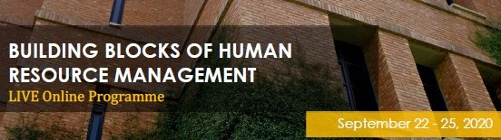 Building Blocks of Human Resource Management - Live Online