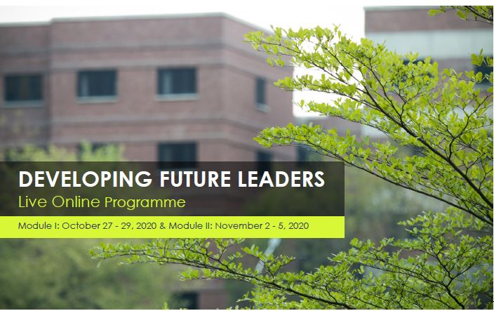 Developing Future Leaders - Live Online